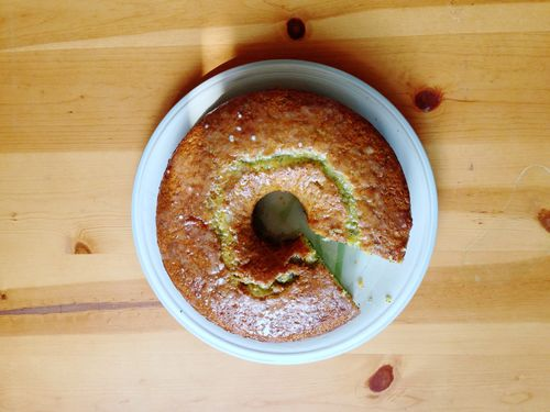 Lemon poppyseed cake 3