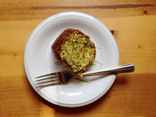 Lemon poppyseed cake 2